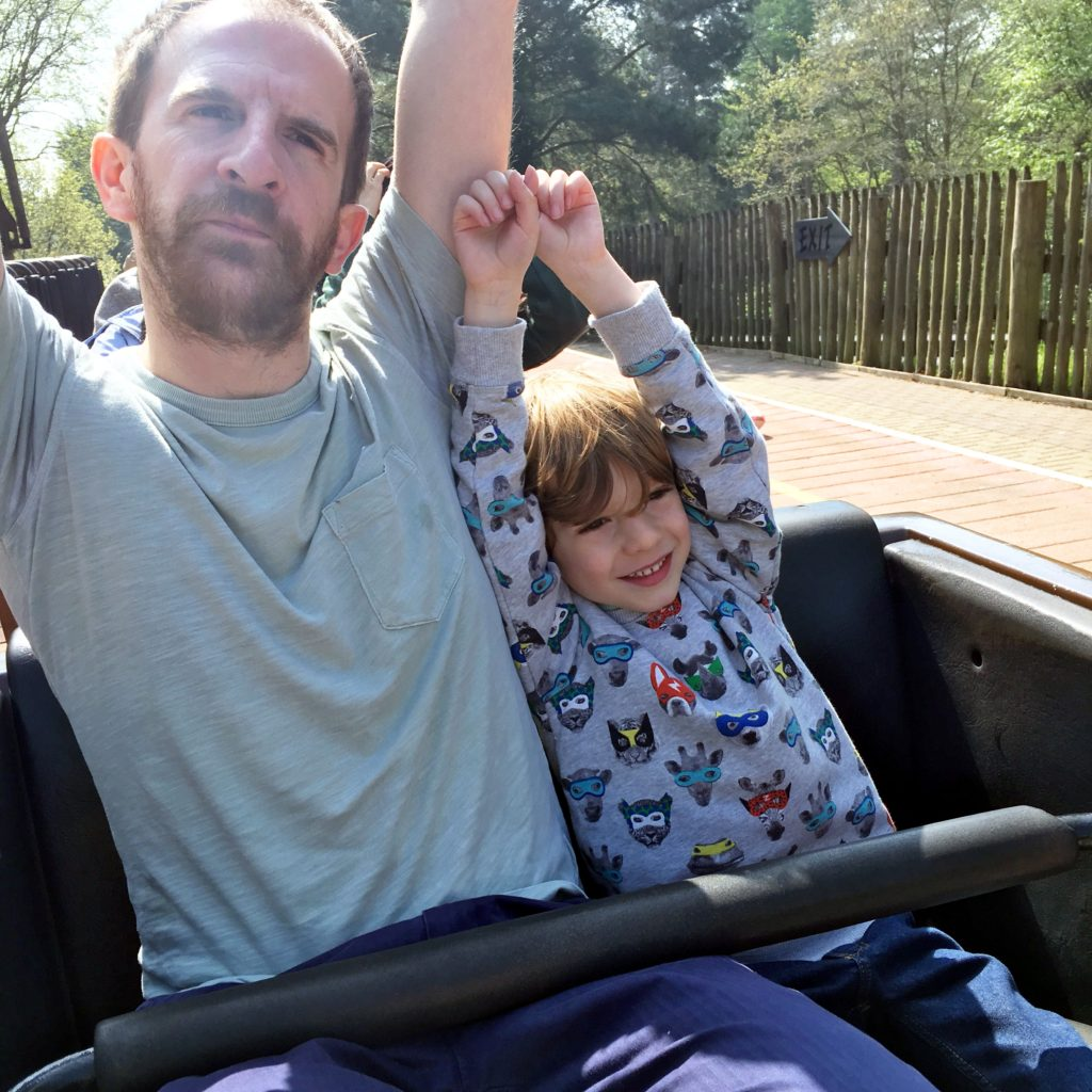 Life as our little family, Alton Towers