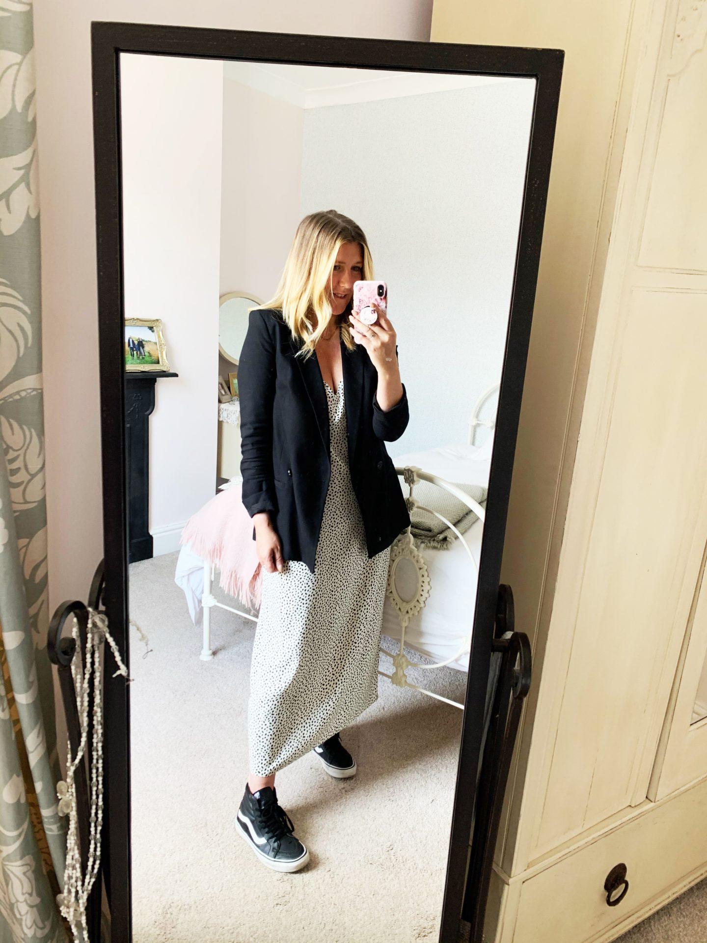 How to style a Slip Dress [Wardrobe Edit]